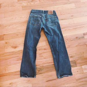 Vintage Levi's 501/505 Straight Leg Jean